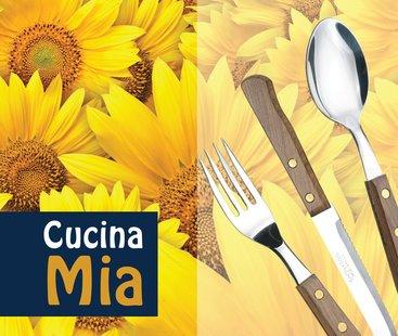 """""""CUCINA MIA"""" дървени дръжки (4)"""
