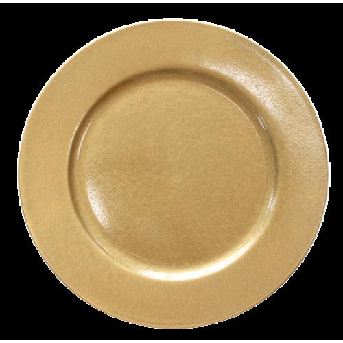 HORECANO-Подложна чиния 33 cm ЗЛАТНА (0193644)