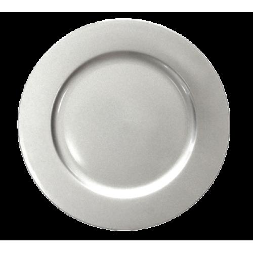 HORECANO-Подложна чиния 33 cm СРЕБЪРНА (0193645)
