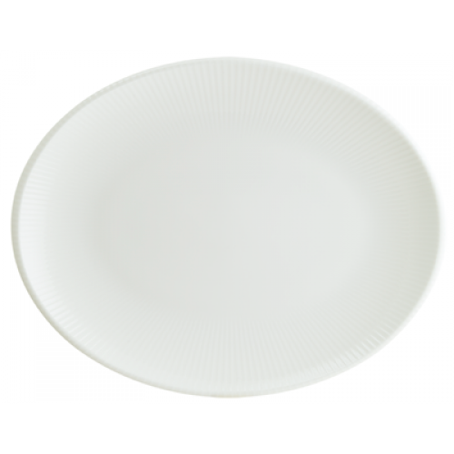 BONNA-IRIS WHITE-Чиния овал 31x...
