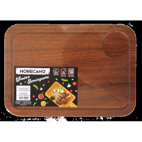 HORECANO-Дъска за презентация ПРАВОЪГЪЛНА 23x33x1.5cm (HC- 981524) C047A