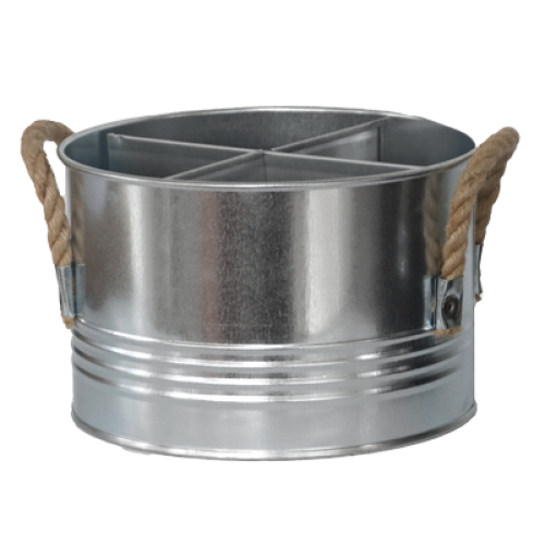 HORECANO-Метална стойка за бутилки ПОЦИНКОВАНА d17xh11 cm (HC-16214)