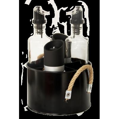 OLD SCHOOL BLACK-Комплектен прибор 5 елемента (HRC931052)