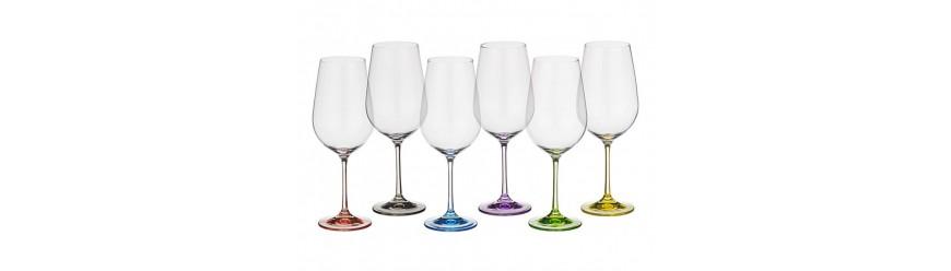 Цветни чаши, чаши с декор