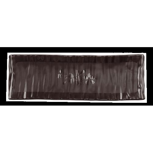 HORECANO-SHIBUI-Плато за суши 24x8xh2,2cm ЧЕРНО (410395BK)