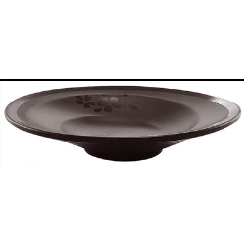 HORECANO-SHIBUI-Чиния дълбока 23cm ЧЕРНА (126609BK)
