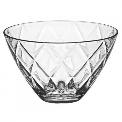 VIDIVI-CONCERTO-Кръгла стъклена купа 3,5lt 25xh15cm (61727EM)