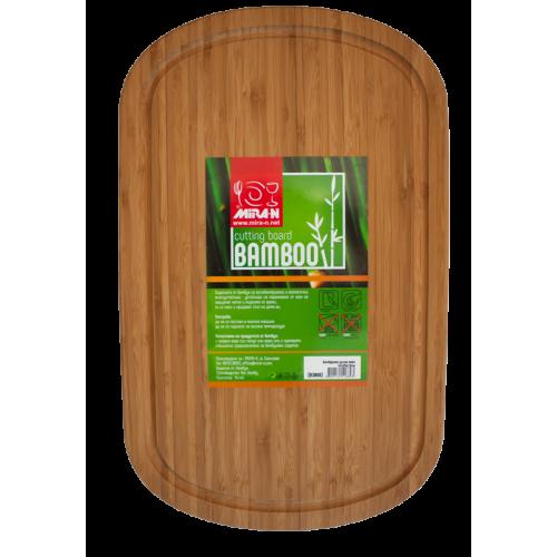 Бамбукова дъска овал 4...