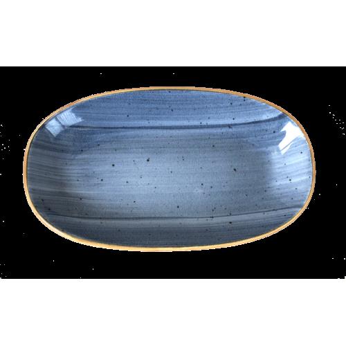 BONNA-DUSK-Овална чиния 19x11...