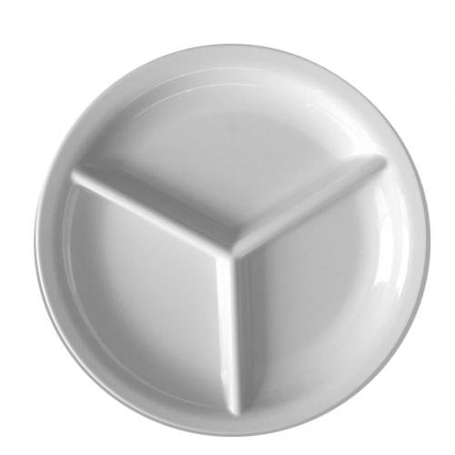 KN-Кръгла чиния с 3 разд...