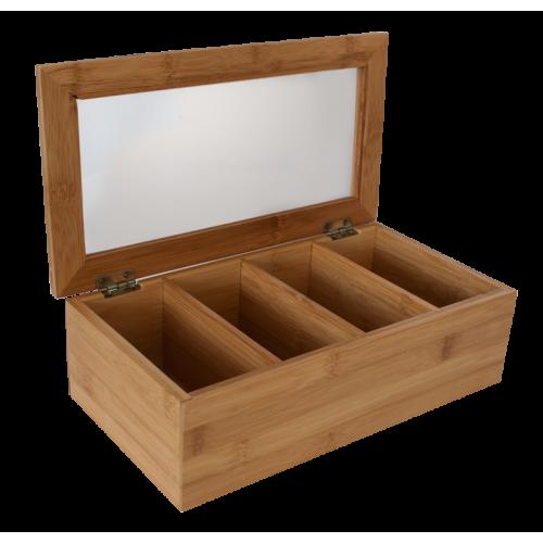 Бамбукова кутия за ча�...