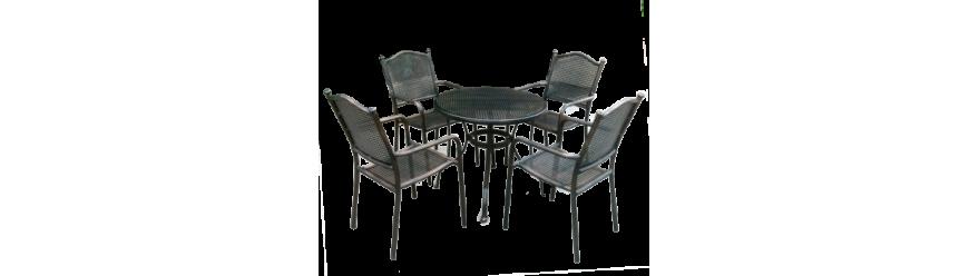 Маси/Столове/Сет - алуминий