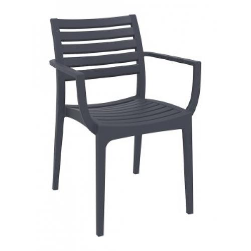 SI-Стол ARTEMIS(011) Черен/Си...