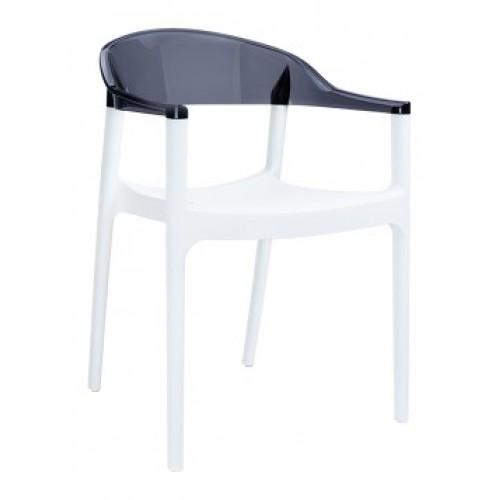 SI-Стол CARMEN(059)-White/Black Tran...