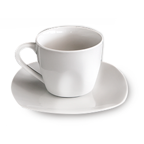Чаша за чай с чинийка  200 сс QRD-289
