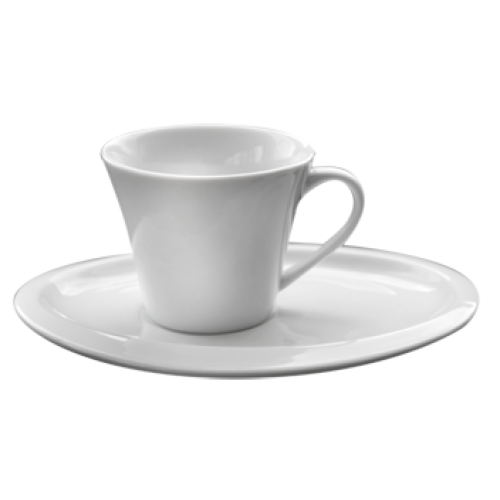 JY-2313AB-90сс-Чаша за кафе с чинийка
