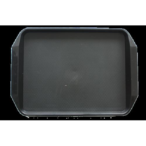 JW-D1217-Табла за сервиране ЧЕРНО 42.5x30см.