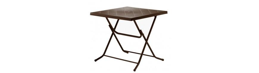 Маси/Столове - пластмаса и алуминий