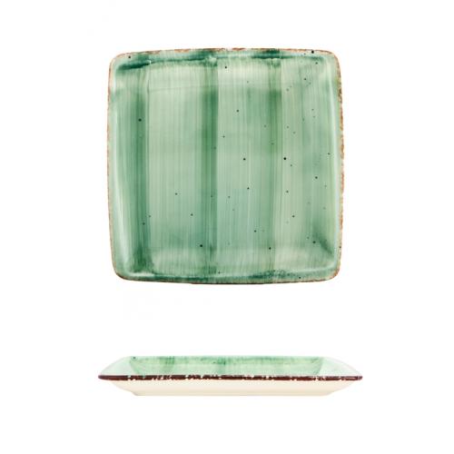 ГП-GREEN-Квадратна чиния...