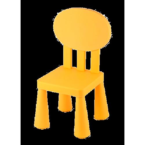 LXY-201-Детско столче с овална облегалка 4 ЦВЯТА
