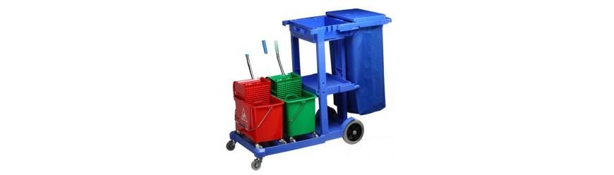 Професионални колички и кофи/Кошове за почистване