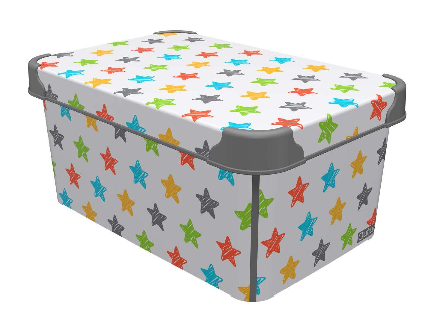 Цветни пластмасови кутии (18)